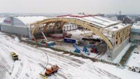 Jet Aviation construction d'un nouveau hangar