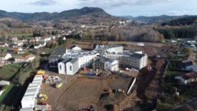 Construction du Centre Hospitalier des 5 Vallées à Moyenmoutier